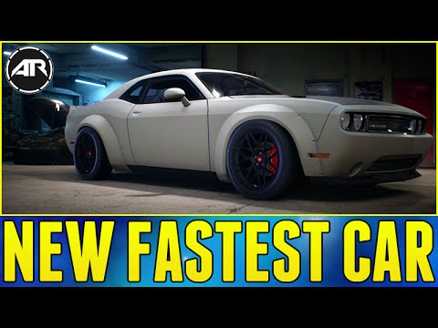 Need For Speed : NEW FASTEST CAR & MOST POWERFUL CAR!!! (1500 Horsepower Challenger)