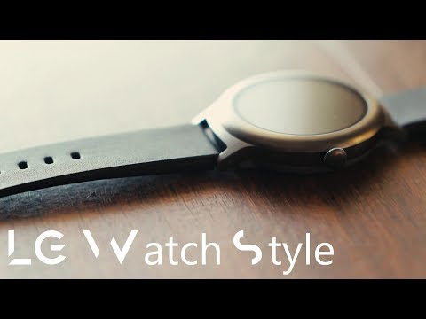LG Watch Style! - Unboxing and First Impressions