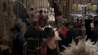 A atriz Evelyn Montesano em mais uma cena de novela