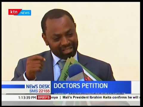 Standoff between government and Kenyan doctors over arrival of Cuban doctors | KTN News Desk
