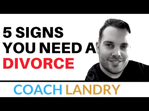 5 Signs You Need to Get a Divorce