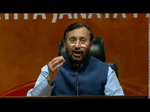 Shri Prakash Javadekar & Shri Ram Kripal Yadav rebut P Chidambram's 10-point attack on govt.