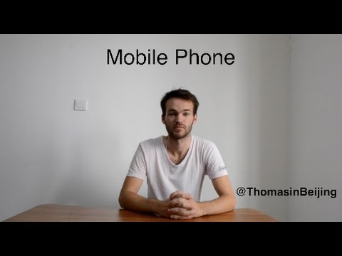 Study in China Episode 5 : Mobile phone in China (Network)