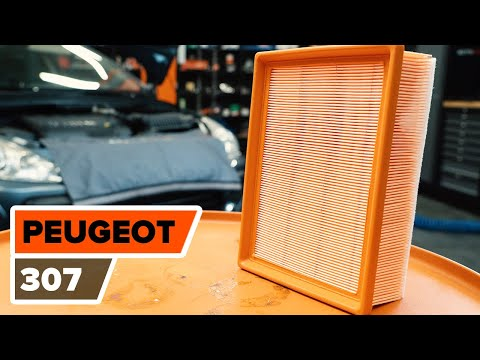 How to replace Air Filter on PEUGEOT 307 TUTORIAL | AUTODOC