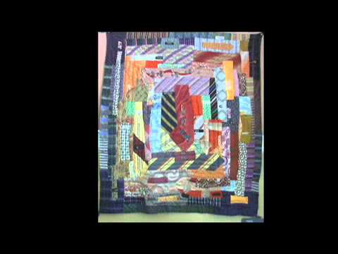 Two New Quilts - Tiger Quilt and Vintage Neckties