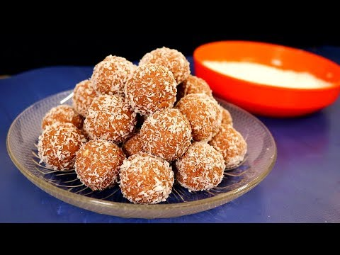 Coconut Rum Balls | Kitchen Time with Neha
