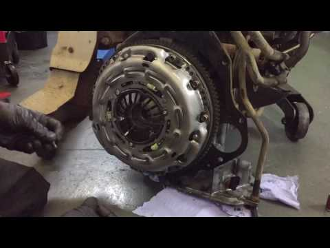How to fit New Nissan Flywheel and Clutch + Release Bearing