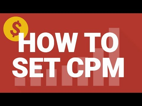 How to: Find and Set Your YouTube CPM in Social Blade