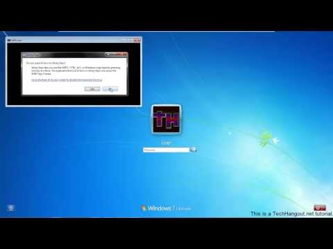 How To change Windows Password using Sticky Keys