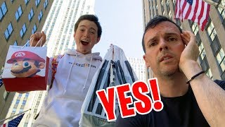 Dad Says YES For 24 HOURS!!