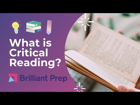 What is Critical Reading? SAT Critical Reading Bootcamp #4