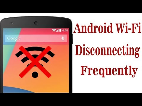 Fix- wifi keeps diconnecting and contacting in android