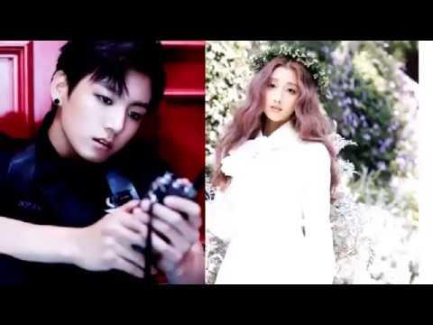 161104 BTS Jungkook Girlfriend is Lovelyz Yein?