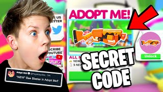*SECRET CODE* To Get The BEE BLASTER in Adopt Me! Prezley