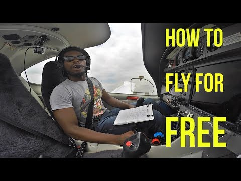 How To Fly For Free - Student Pilot Or Private Pilot