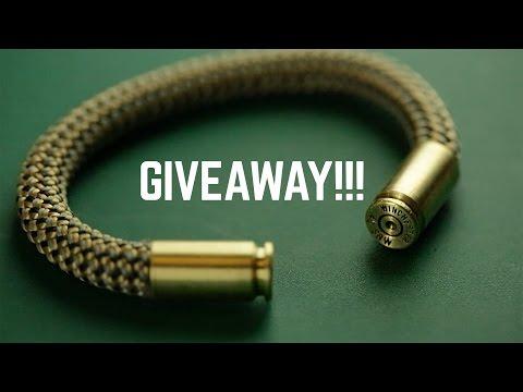 Bullet Bracelet Giveaway