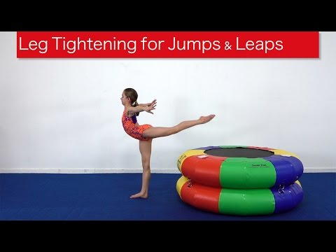 Leg Tightening for Jumps & Leaps