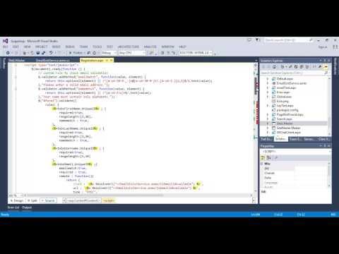 Jquery validation in asp net webform
