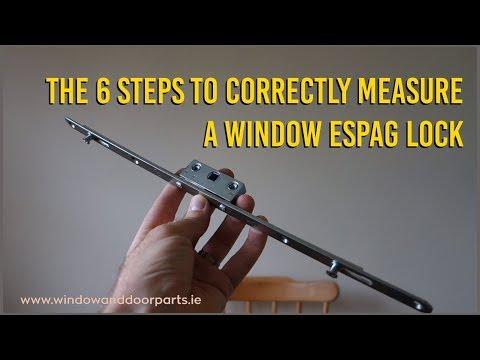 The 6 Steps To Correctly Measure A Window Espag Lock