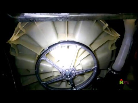 FRONT LOAD WASHER REPAIR - NOISY SPIN CYCLE - LEAKING WASHER - Maytag Whirlpool