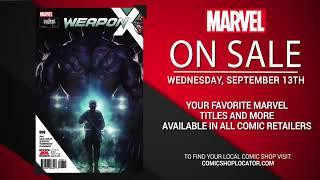 Marvel NOW! Titles for September 13th