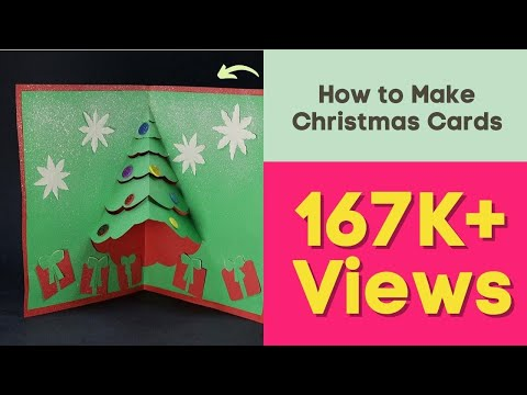 DIY Pop Up Christmas Card - How to Make Christmas Cards