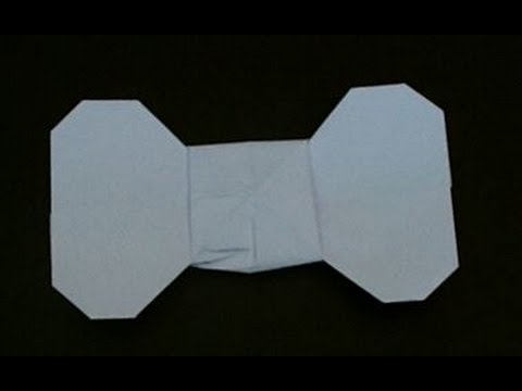 How To Make A Paper Bow Tie