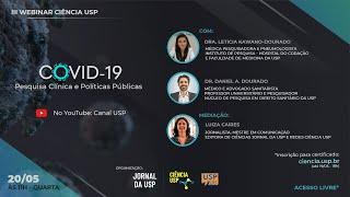 III Webinar Ciência USP | COVID-19: Pesquisa Clínica e Políticas Públicas #CiênciaUSP