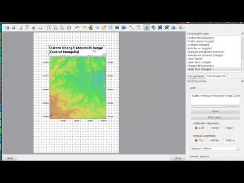 first steps of map creation with QGIS