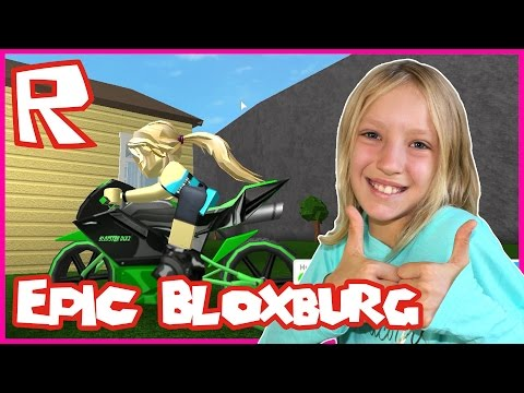 Roblox Welcome to Bloxburg / Epic Motorbike