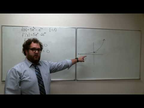 Section 4.2 & 4.1 - Rolle's Theorem and the Extreme Value Theorem Examples