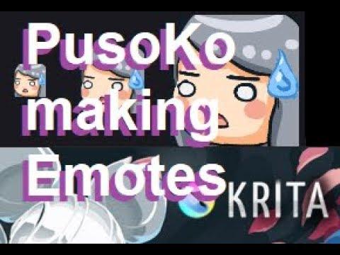 PusoKo Draws : TWITCH EMOTE(S)