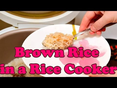 How to Cook Brown Rice in a Rice Cooker | Making Brown Rice in a Rice Cooker