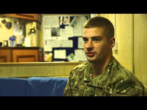 Royal Navy TwoSix.tv Oct 2014: Royal Marine Rogers