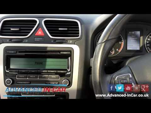 Volkswagen Bluetooth & Voice Control Retrofit on RCD 310