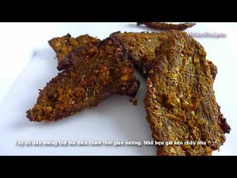 How to make beef jerky - Thịt bò khô