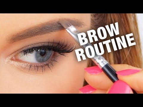 HOW TO FILL IN BROWS (With Anastasia Beverly Hills Dipbrow Pomade)