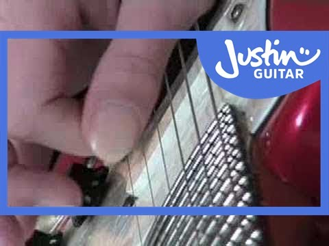 How to Play Pinch Harmonics: Squealies - Guitar Lesson - JustinGuitar [TE-012]