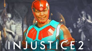 INJUSTICE 2 - ALL Atom Most SAVAGE Dialogues!