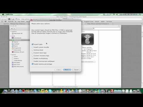 iOS 4.2.1 JAILBREAK iPod Touch 2g/3g/4g & iPhone 3g / 3gs / 4 Tutorial Deutsch - TheMuffinskater