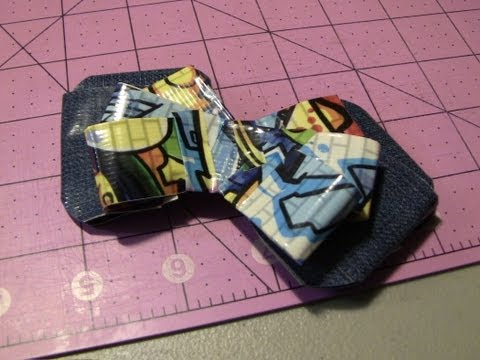 How to make Duct tape Loop Bows!
