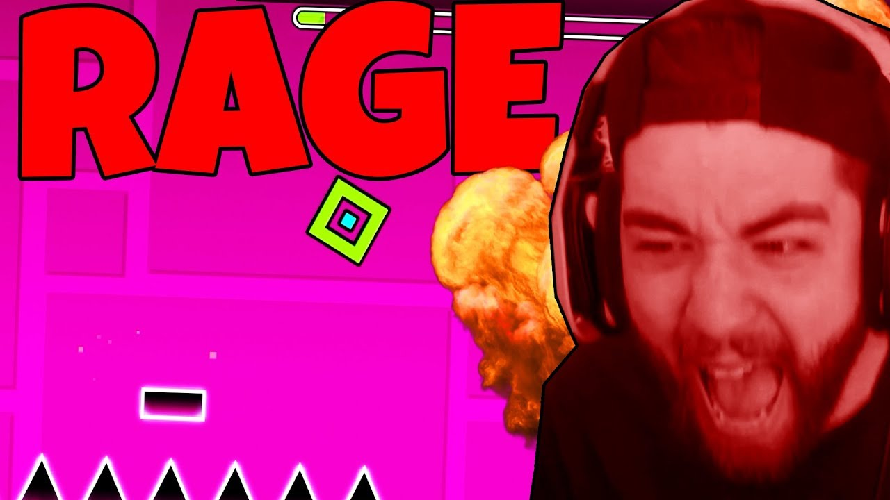 JEV PLAYS GEOMETRY DASH (CHALLENGE ACCEPTED)