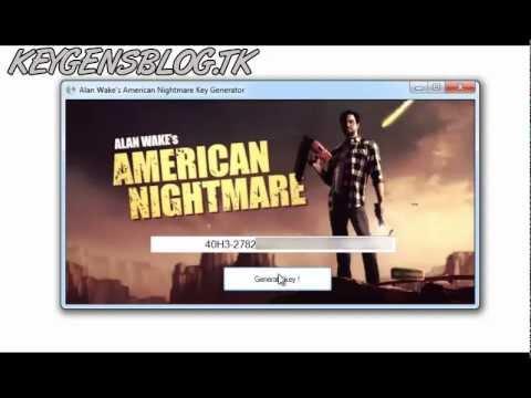 Alan Wake's American Nightmare -- KeyGen