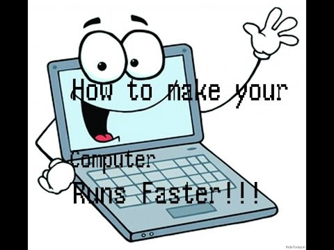 How to make your computer run faster (Easy steps)