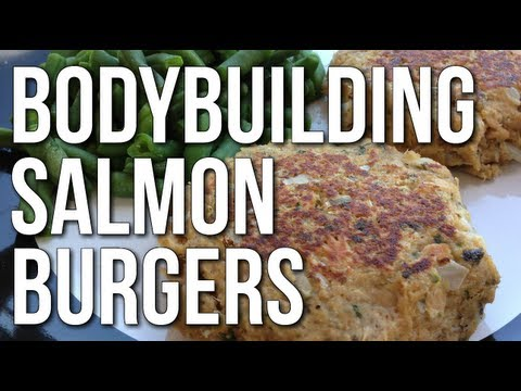 MUSCLE BUILDING MEAL - 10 MINUTE BODYBUILDING SALMON PATTY