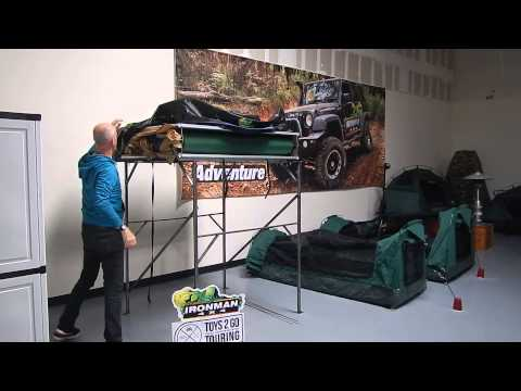 Ironman4x4 Best Rooftop Tent set up!