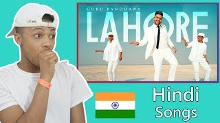 American React To Indian Song | Guru Randhawa: Lahore (Official Video)