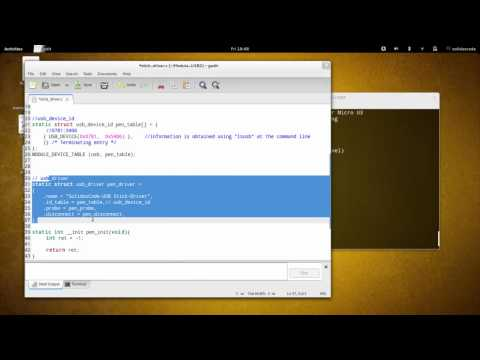Linux Kernel Module Programming - USB Device Driver 02