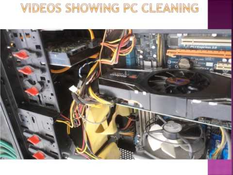 How to Clean your PC using a vacuum cleaner