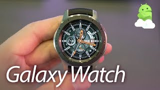 Samsung Galaxy Watch Hands-on: Grinding Gears